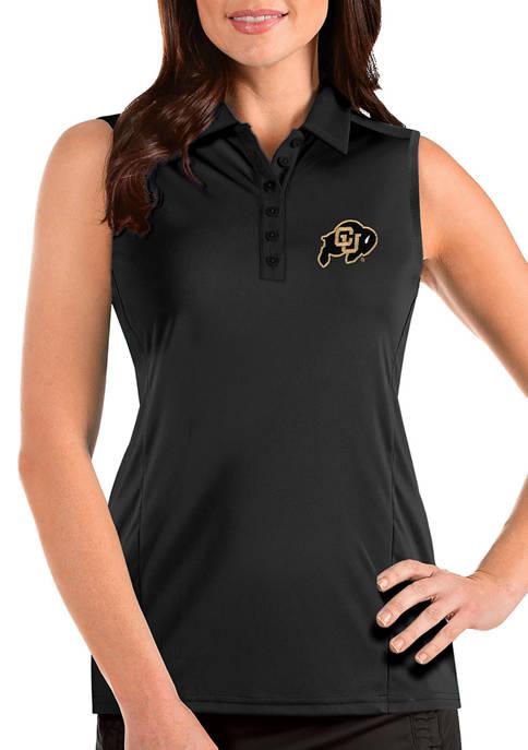 Antigua® Womens NCAA Colorado Buffaloes Sleeveless Tribute Top