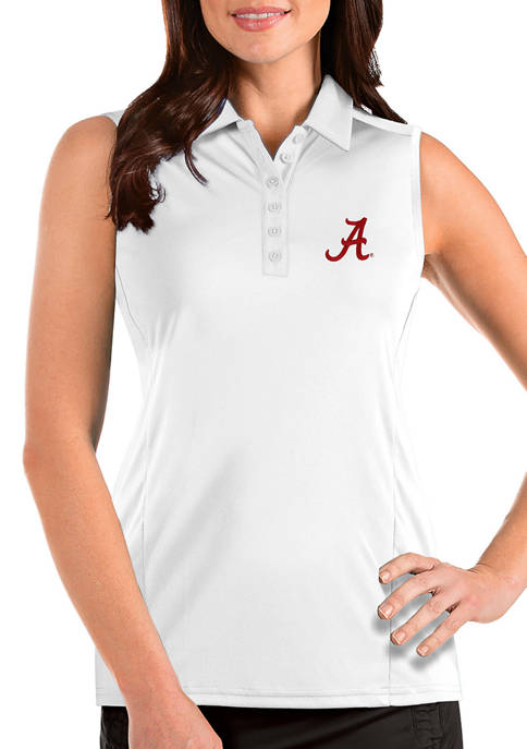 Antigua® Womens NCAA Alabama Crimson Tide Sleeveless Tribute