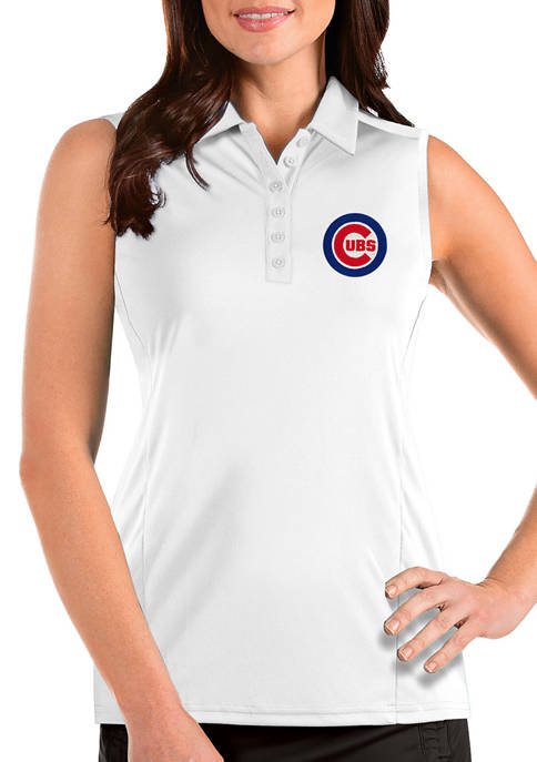 Antigua® Womens MLB Chicago Cubs Sleeveless Tribute Top