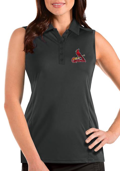 Womens MLB St Louis Cardinals Sleeveless Tribute Top