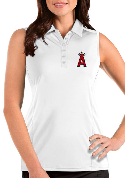 Antigua® Womens MLB Los Angeles Angels Sleeveless Tribute