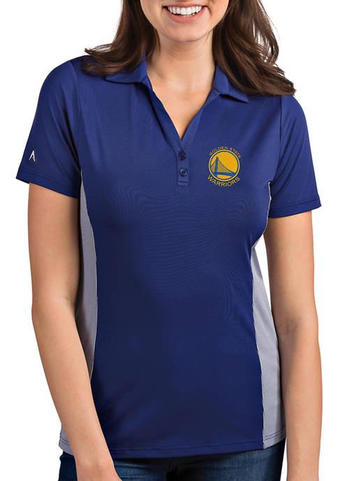 Womens NBA Golden State Warriors Venture Polo