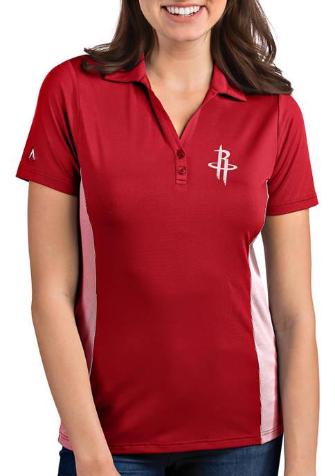 Womens NBA Houston Rockets Venture Polo