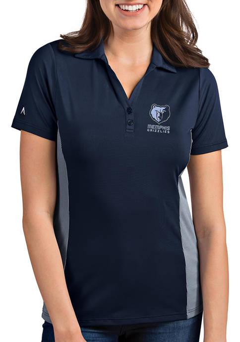 Antigua® Womens NBA Memphis Grizzlies Venture Polo