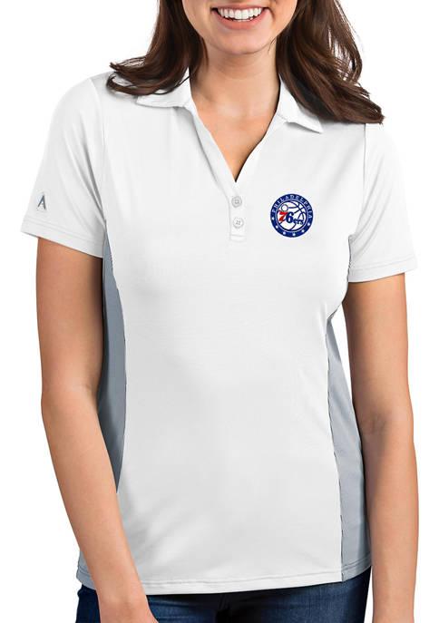 Womens NBA Philadelphia 76ers Venture Polo