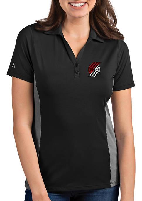 Antigua® Womens NBA Portland Trail Blazers Venture Polo