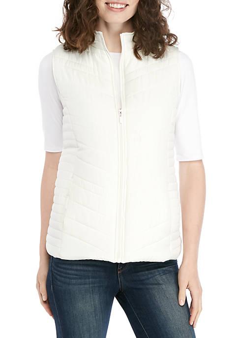 Kim Rogers® Solid Microfiber Vest