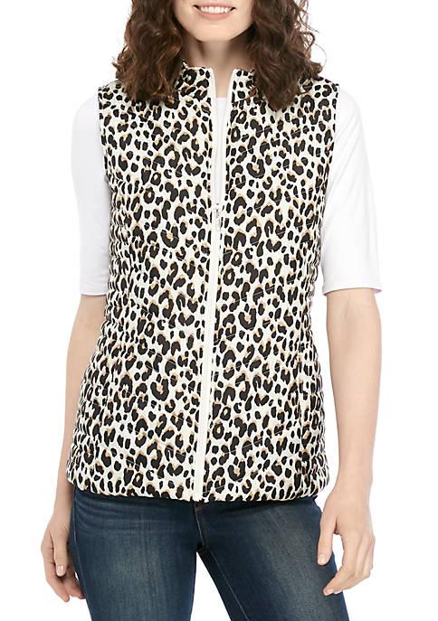 Kim Rogers® Microfiber Cheetah Vest