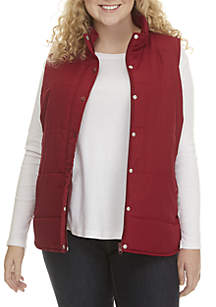 Plus Size Polly Filled Vest