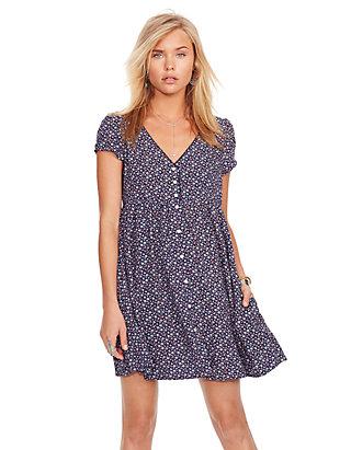 ef9955dc6a Denim   Supply Ralph Lauren Button Front Floral Dress