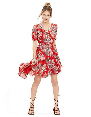 684af818231 Denim   Supply Ralph Lauren. Denim   Supply Ralph Lauren Floral Wrap Dress
