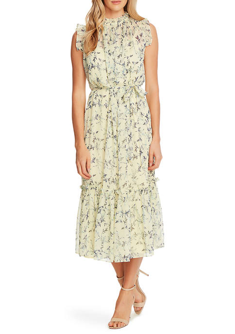 Kasper Women S Cap Sleeve Julie Midi Dress Belk