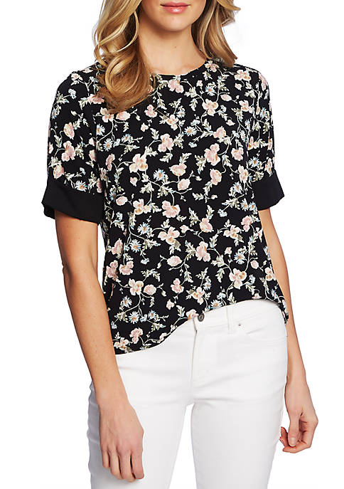Small Duchess Floral Top