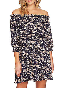 Off-the-Shoulder Ivy Ruffle Dress