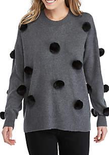 Pom Pom Sweater