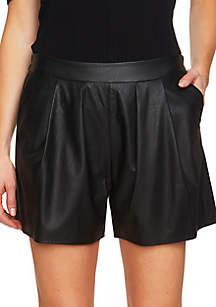 Vegan Leather Short