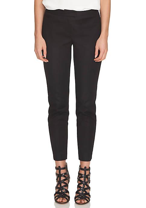 CeCe Double Weave Slim Pant