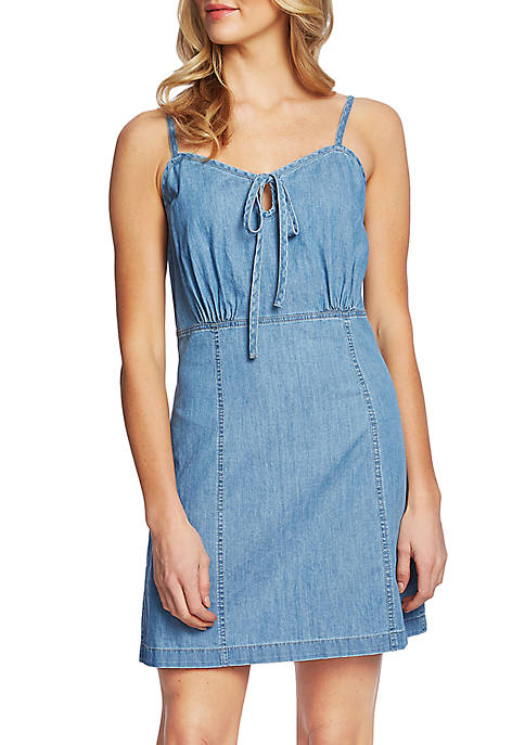 CeCe Chambray Tank Dress