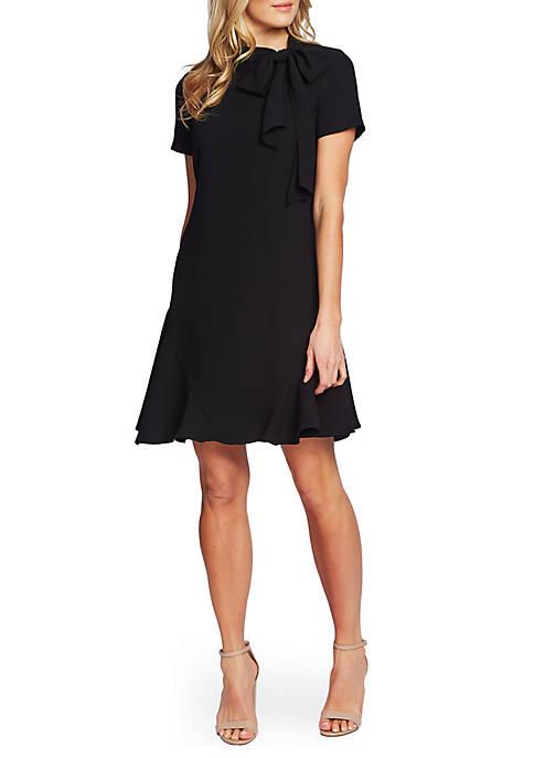CeCe Short Sleeve A Line Dress