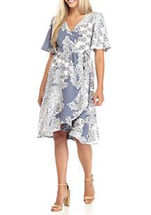 Petite Size IT Wrap Dress