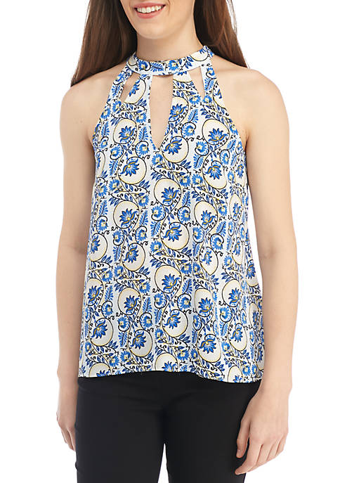 Kaari Blue™ Cutout Halter Top