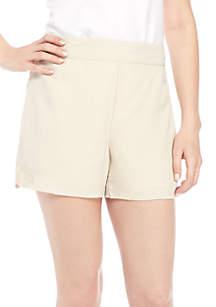 Pull-On Print Shorts