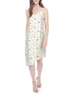 Asymmetrical Maxi Cami Dress