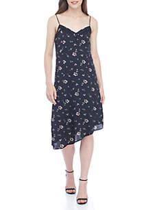 Asymmetrical Mix Cami Dress