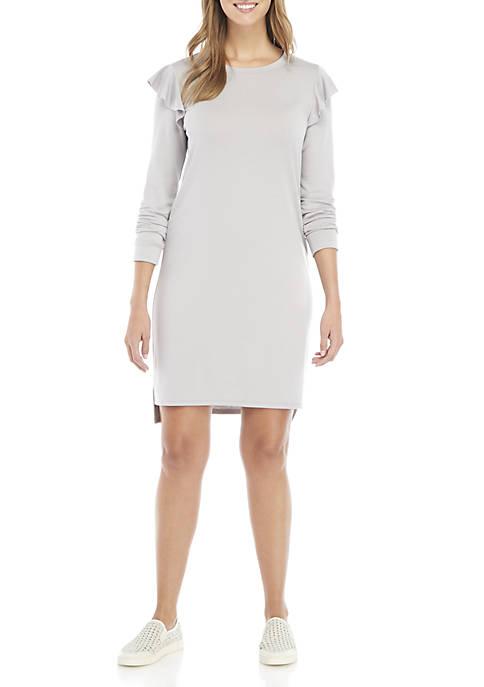 Kaari Blue™ Long Ruffle Sleeve Dress