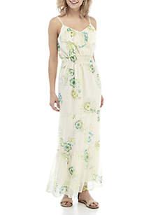 504b0e36e16 ... Kaari Blue™ Ruffle Flounce Maxi Dress