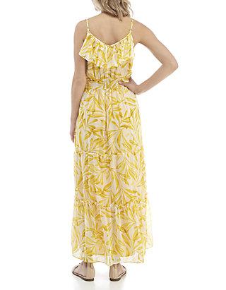 931b64d49ae Kaari Blue™. Kaari Blue™ Ruffle Flounce Maxi Dress