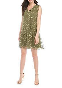 Kaari Blue™ Sleeveless Peasant Dress
