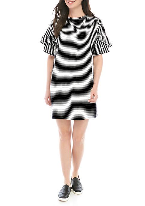 Kaari Blue™ Cascade Sleeve Dress