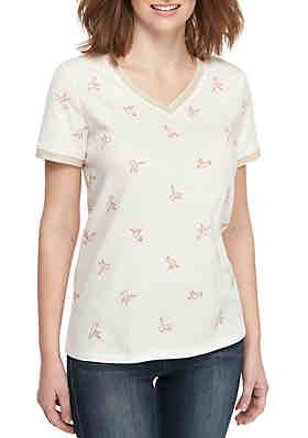 258351095c1f28 Kaari Blue™ Hummingbird T Shirt ...