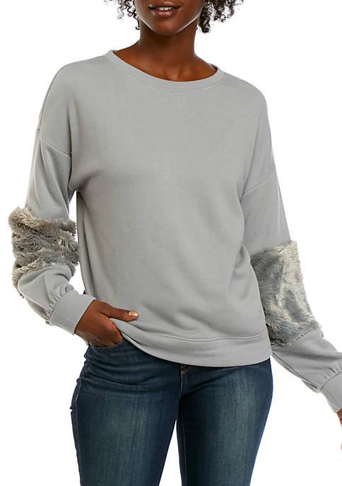 Kaari Blue™ Pieced Sleeve Sweatshirt