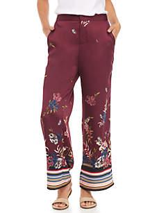 Floral Soft Pants