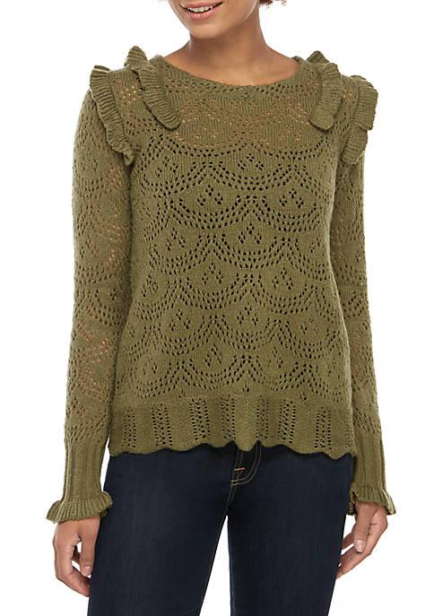 Kaari Blue™ Pointelle Sweater