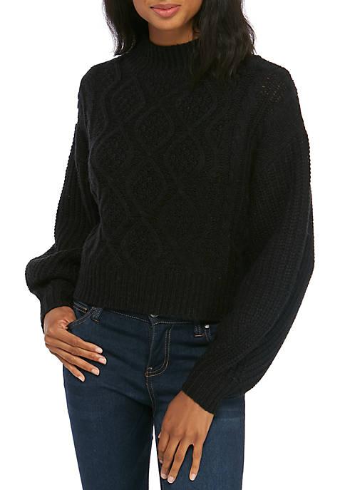 Kaari Blue™ Mixed Cable Sweater