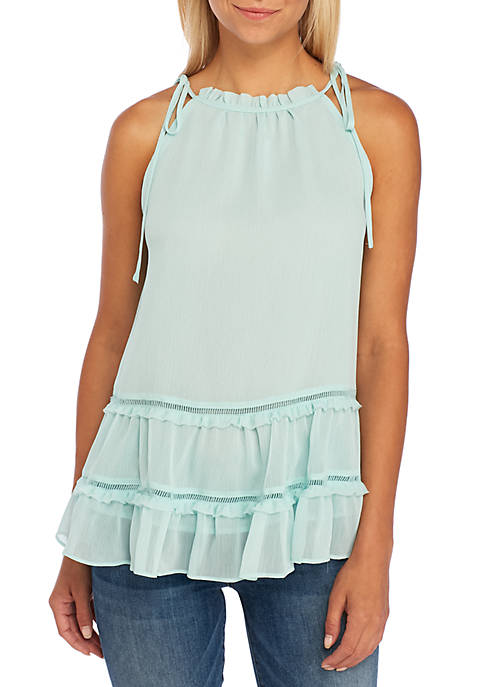 Kaari Blue™ Sleeveless Tiered Peasant Top