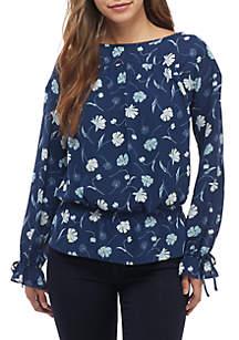 Kaari Blue™ Long Sleeve Ruched Top