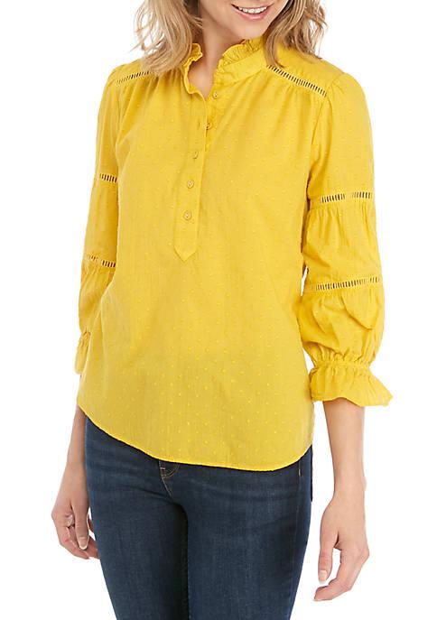 Kaari Blue™ Long Tier Sleeve Top