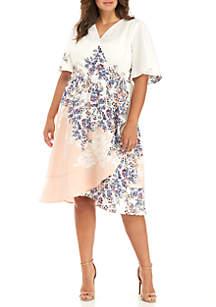 Plus Size IT Wrap Dress