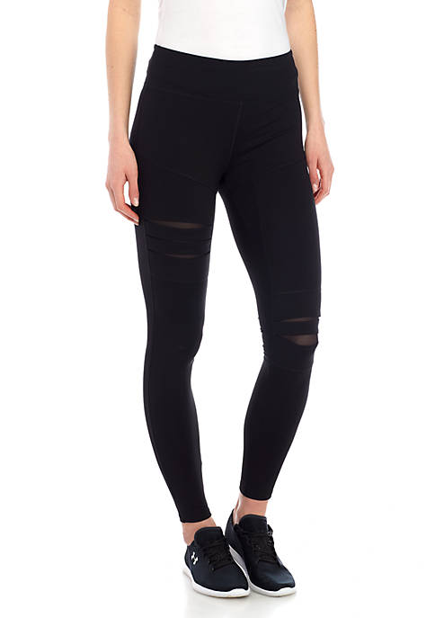 Jessica Simpson TheWarmUp Ripped Leggings