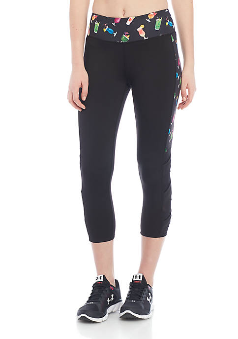 Jessica Simpson TheWarmUp Bottoms Up Capris