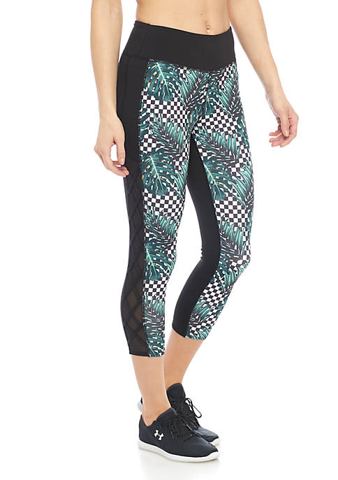 Jessica Simpson TheWarmUp Palm Check Capri