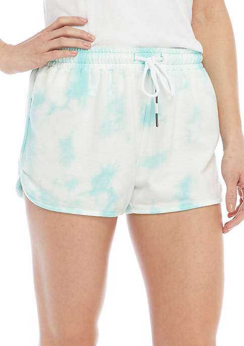 Jessica Simpson TheWarmUp Tie-Dye Shorts