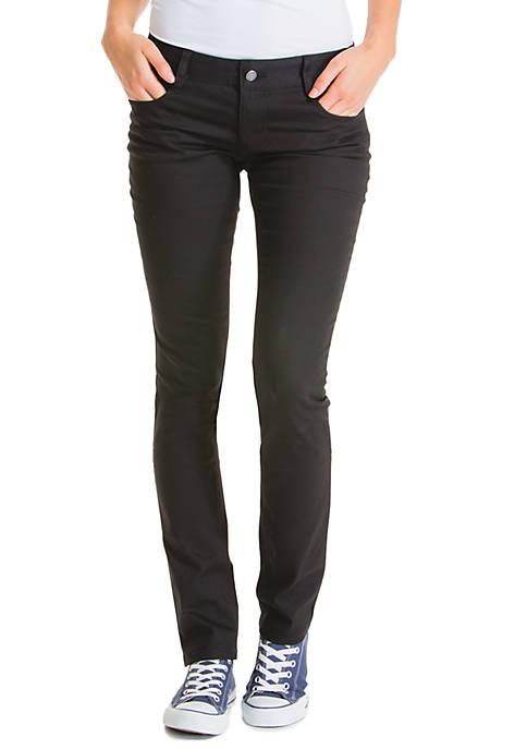 Plus Size 5-Pocket Skinny Pants