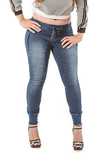 a6a69ae34dd Standards and Practices. Standards and Practices Plus Size Skinny Knit  Denim Jogger