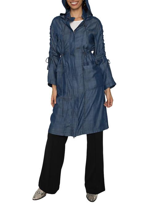 Womens Pippa Hooded Utility Anorak Jacket