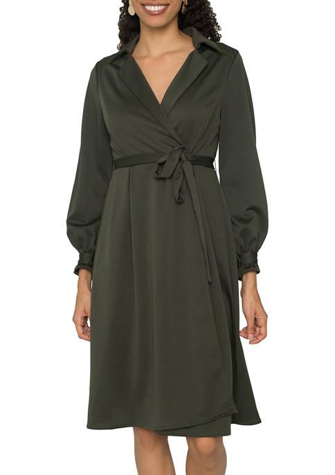 Womens Lara Utility Shirt Dress